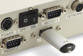 USBフラッシュメモリにも対応